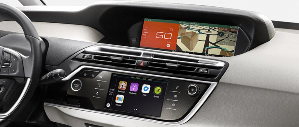 C4 Picasso connect nav