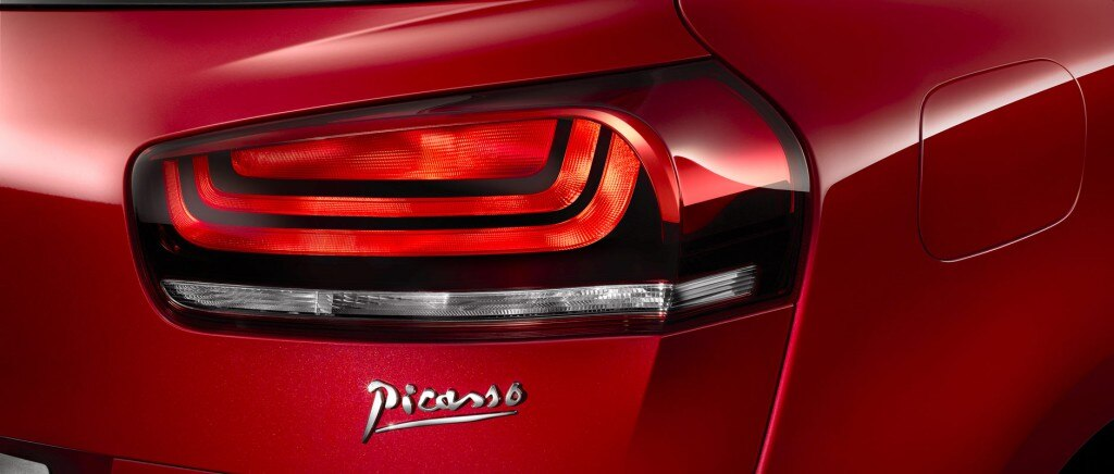 C4 Picasso rear lights